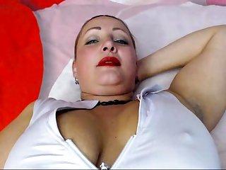 Slutty Milf Solo Masturbation To Orgasm
