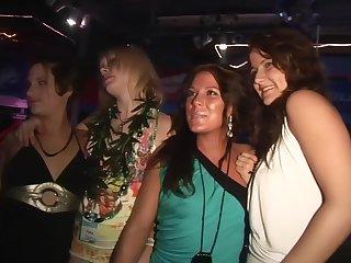 Spring Break Club Night Upskirt - DreamGirls