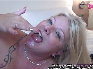 german mature jocular mater first time casting in hotel