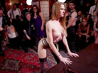 Curly whore Dee Williams enjoys nonstop hardcore orgy party in the brothel