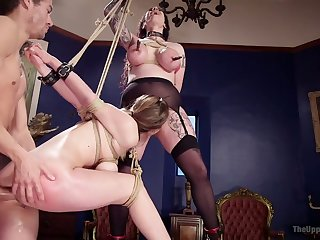 Deep anal mad about is what quite curvaceous pledged call-girl Arabelle Raphael needs