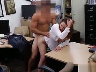 Foxy business woman fucked overwrought ratchet guy