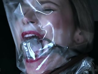 Rough sex, asphyxiation and dirty orgasms in pure BDSM