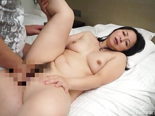 Japanese mom roughly fucked by her step mom