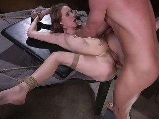 Naked emotional slut Cadence Lux is pledged to the fore sensual brawler banged