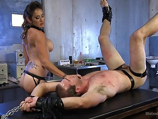 Exclusive femdom with a busty mom potent tough
