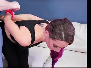 Cop domination Ass-Slave Yoga