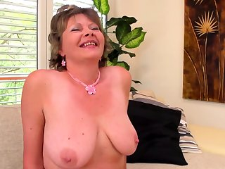 extreme big boob grandmas first porn pellicle filmed