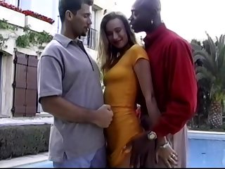 Euro Beauty interracial threesome