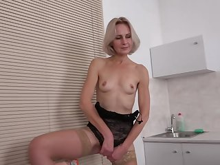 Artemia is a full-grown blonde lady who likes to play almost will not hear of pussy and to get fucked
